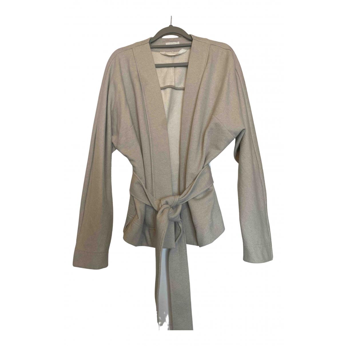 Cos N Grey Cotton jacket for Women XS International