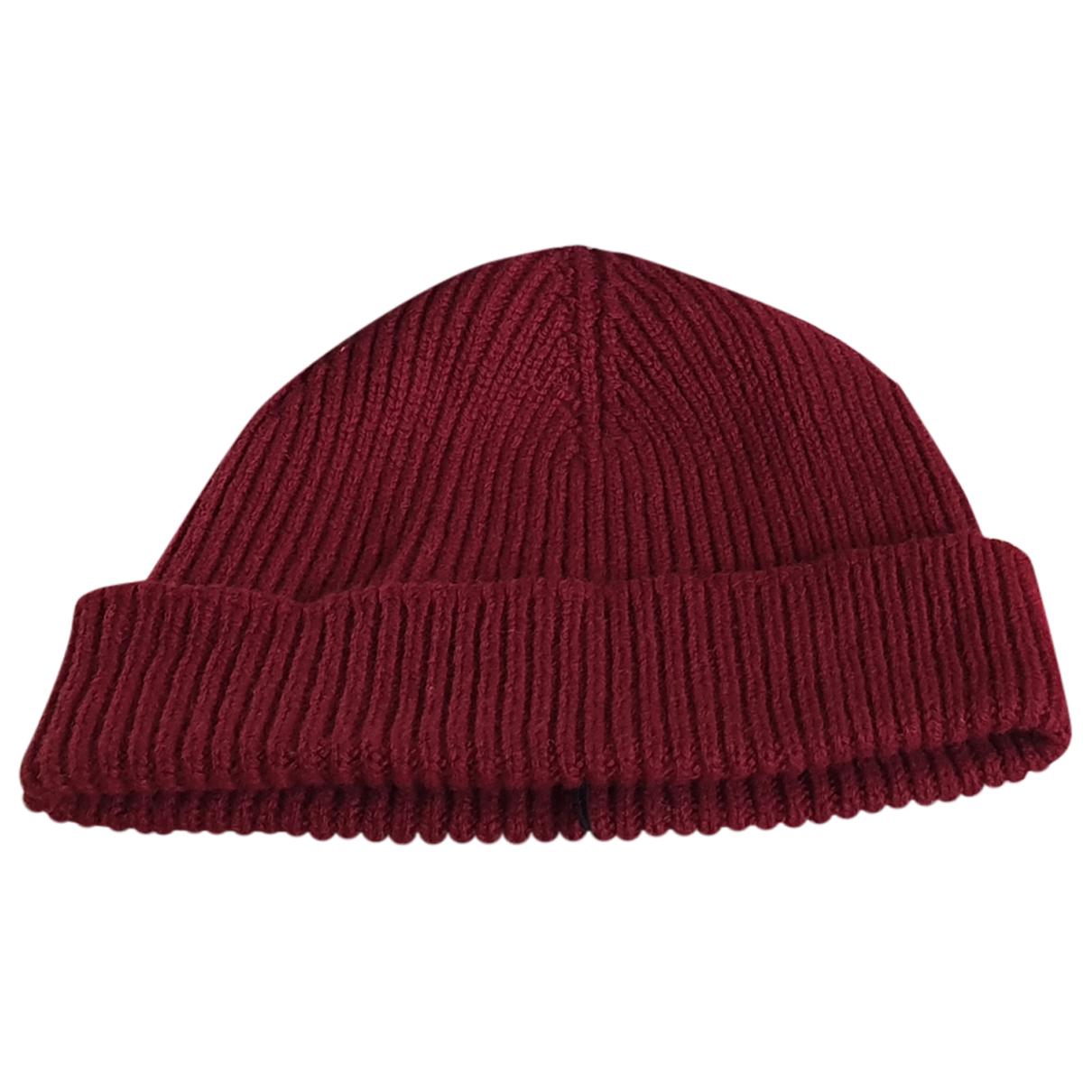 Paul Smith - Chapeau & Bonnets   pour homme en cachemire - bordeaux