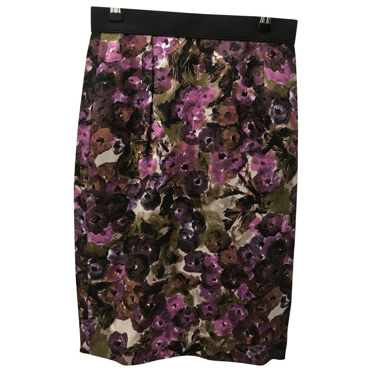 Tara Jarmon \N Black Silk skirt for Women 38 FR