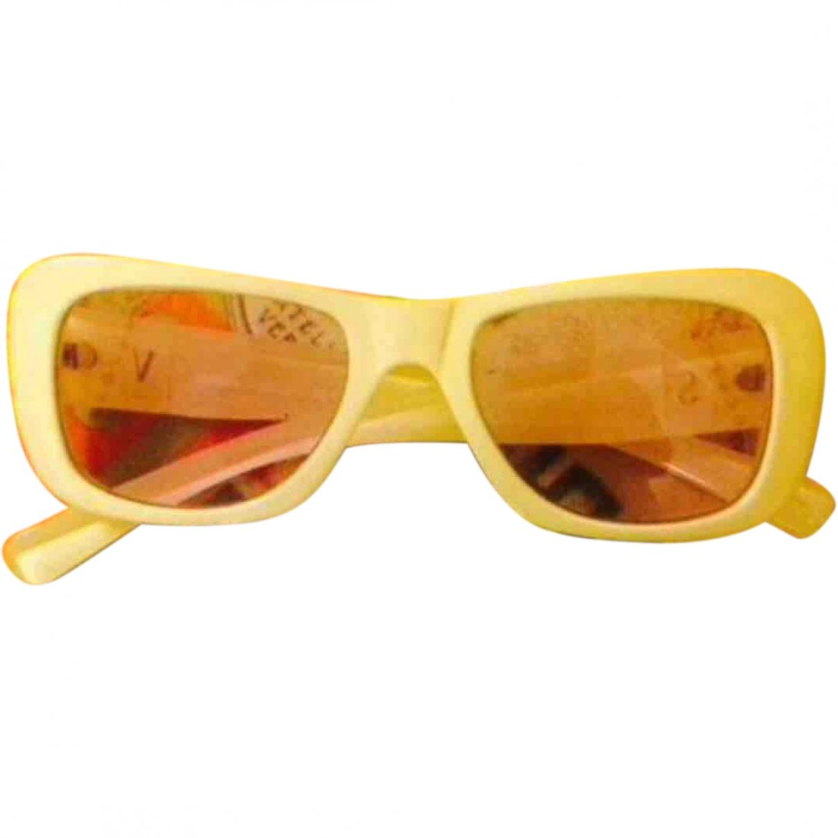 Versus \N Sonnenbrillen in  Ecru Kunststoff