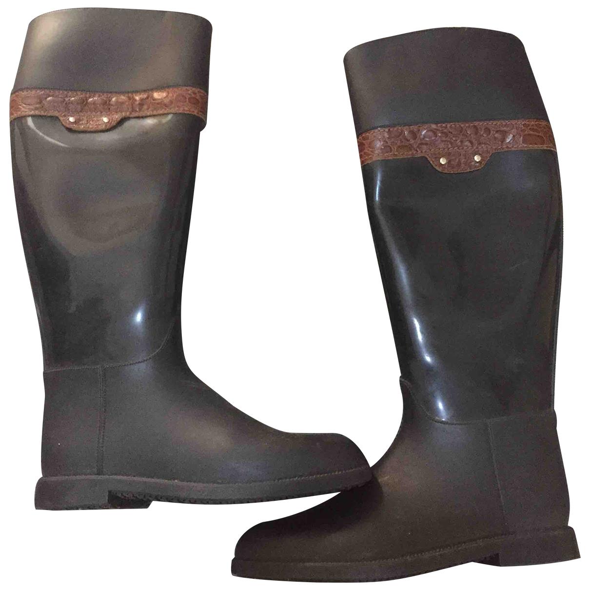 Gant \N Stiefel in  Schwarz Kunststoff