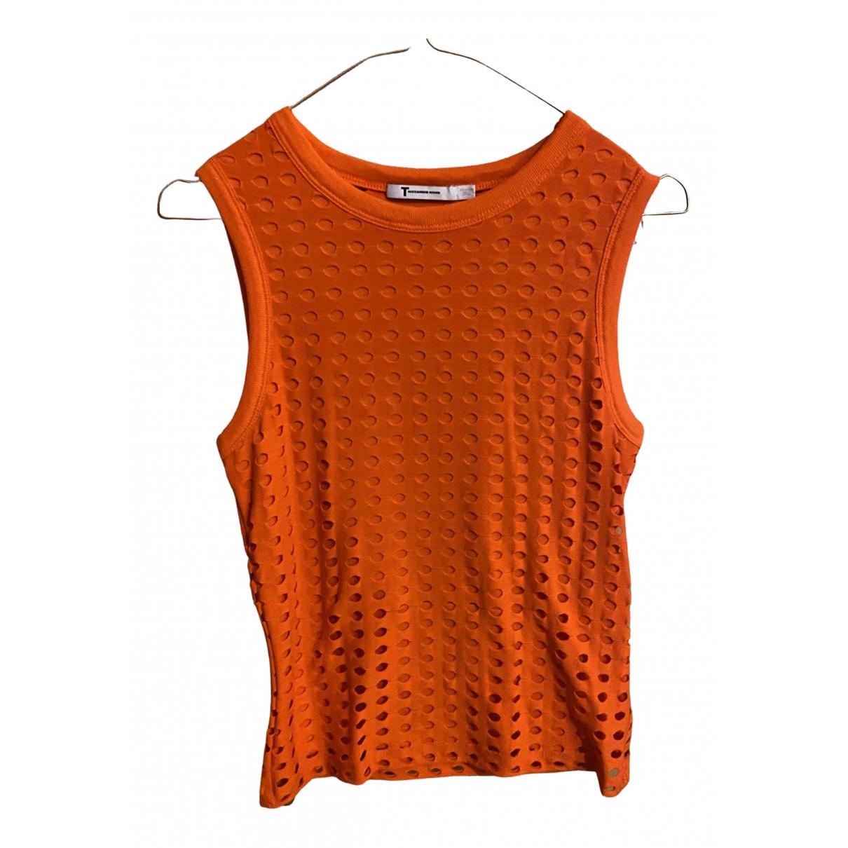 T By Alexander Wang - Top   pour femme - orange
