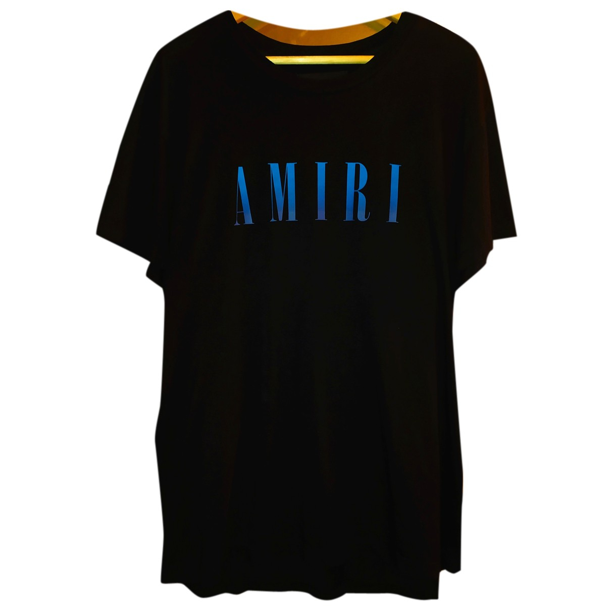 Amiri N Black Cotton T-shirts for Men L International