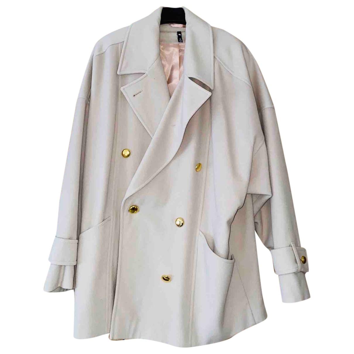 Cashmere In Love \N Jacke in  Beige Wolle