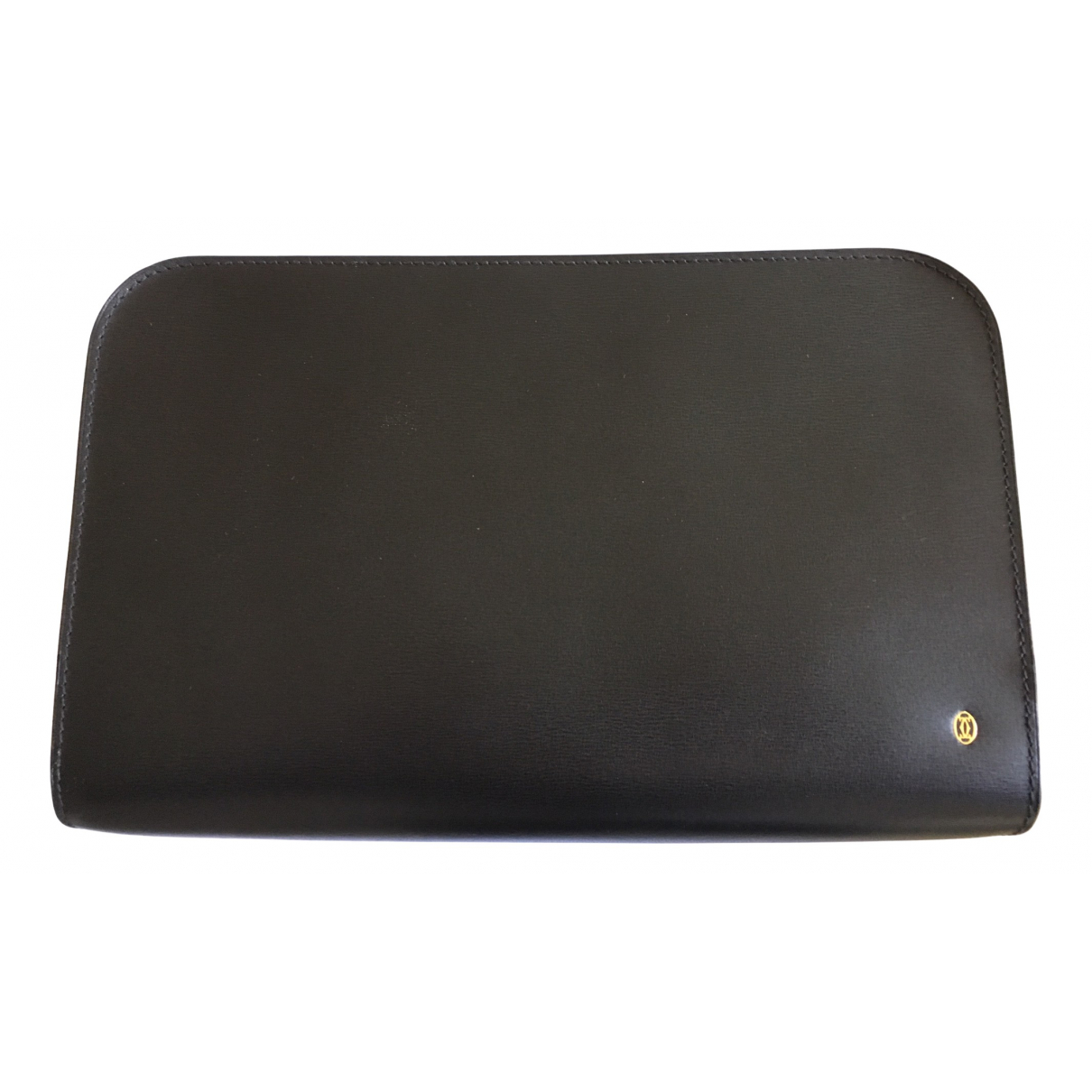 Cartier N Black Leather Clutch bag for Women N