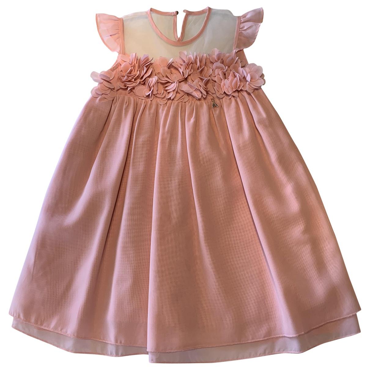Patrizia Pepe \N Kleid in  Rosa Synthetik