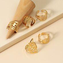5 Stuecke Ring mit Lochern