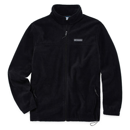 Columbia Midweight Fleece Jacket - Big and Tall, 4x-large Tall , Black