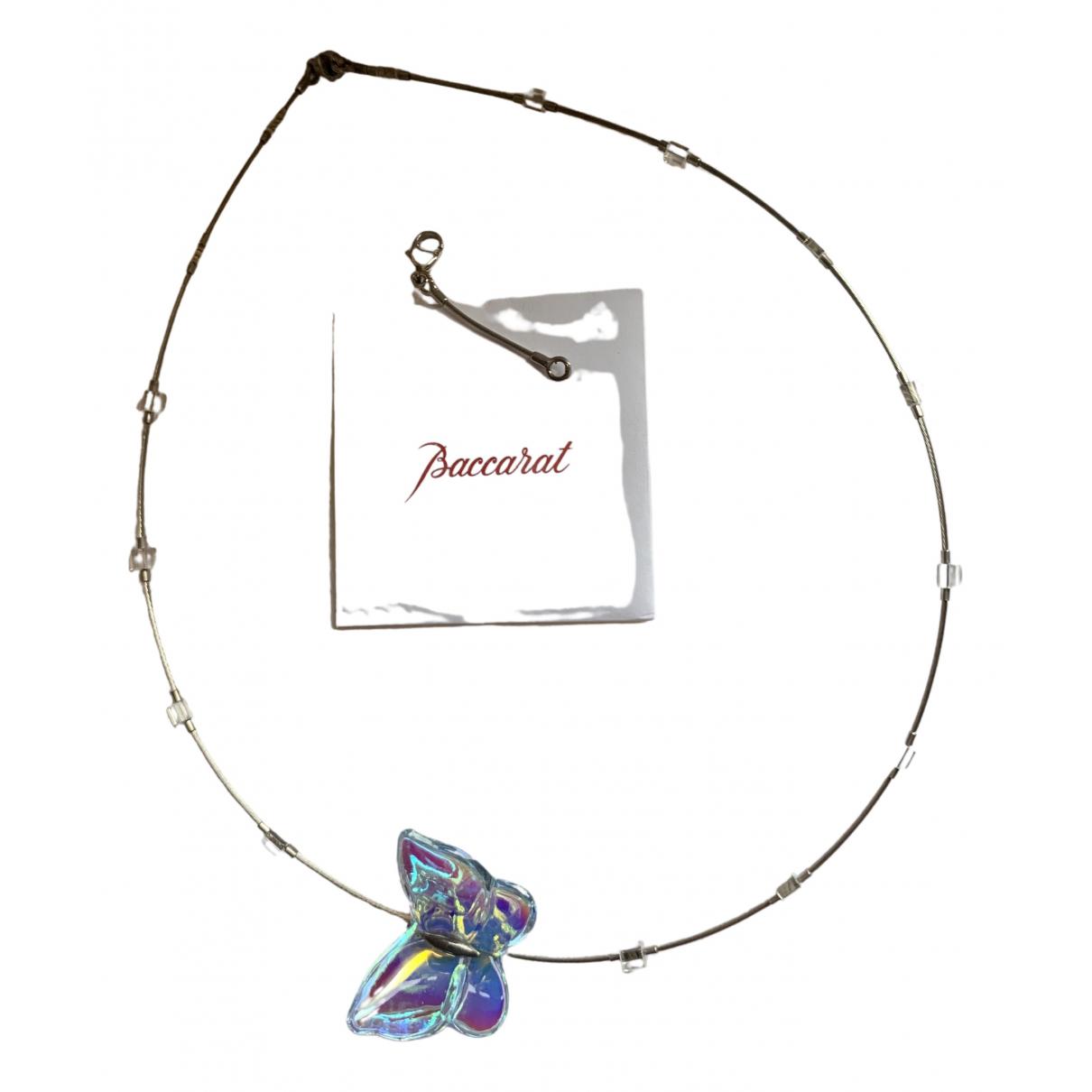 Baccarat - Collier   pour femme en cristal - blanc