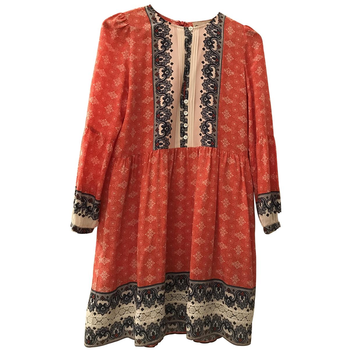 Sea New York - Robe   pour femme en soie - rouge