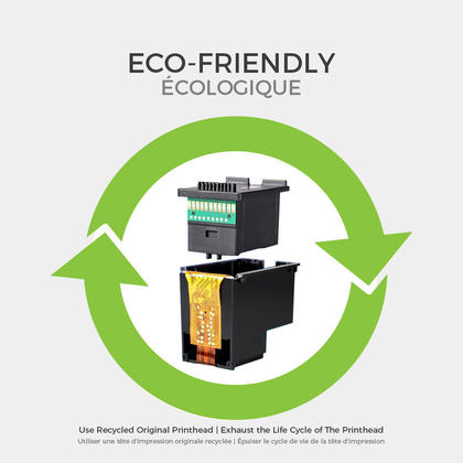 HP 65XL N9K04AN Eco-Saver Remanufactured Black Ink Cartridge High Yield 1+3 / Box