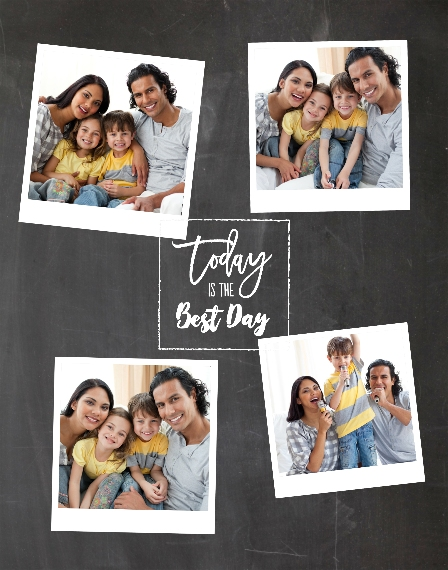 Everyday 11x14 Adhesive Poster, Home Décor -Best Day Ever