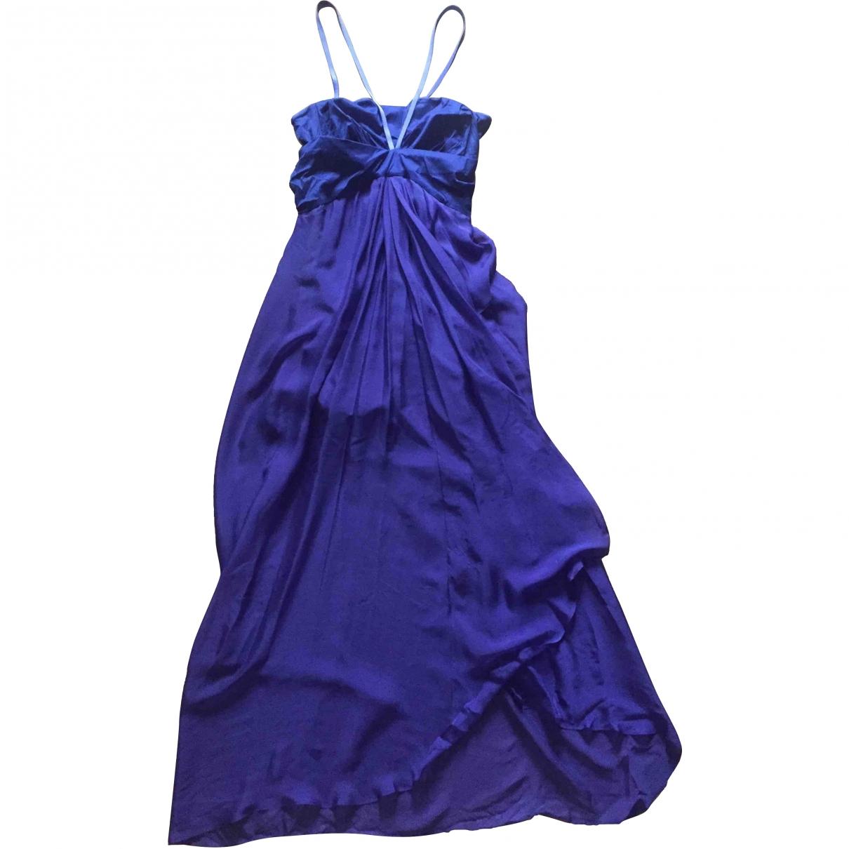 Vanessa Bruno \N Blue Cotton dress for Women 36 FR