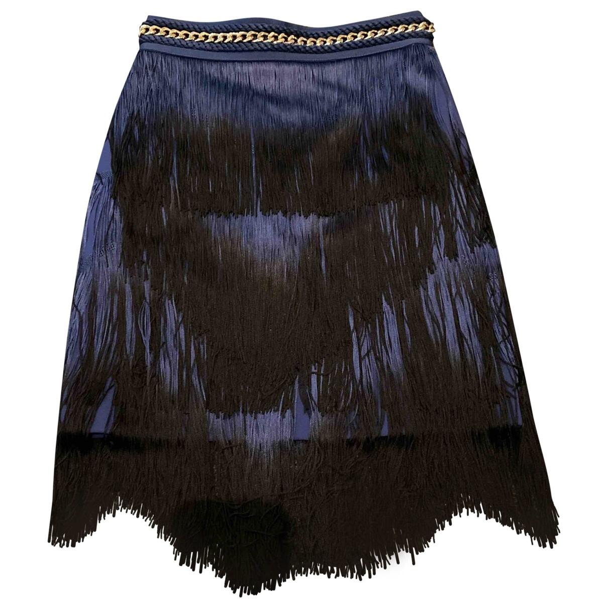 Elisabetta Franchi \N Blue skirt for Women 40 IT