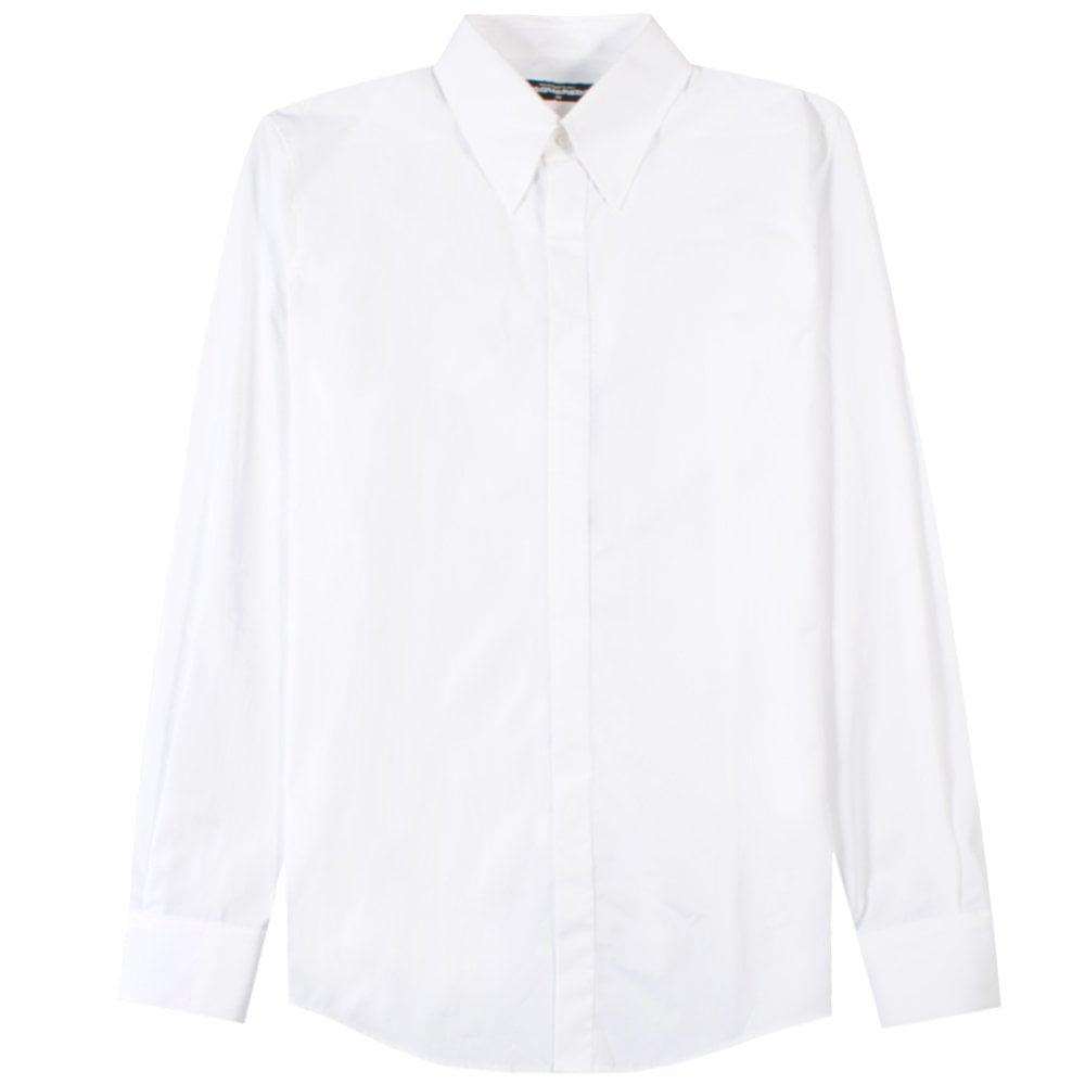 Dsquared2 Classic Shirt White Colour: WHITE, Size: MEDIUM