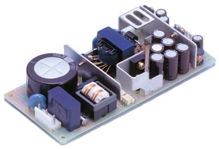 Cosel , 30W Embedded Switch Mode Power Supply SMPS, 5 V dc, ±12 V dc, Open Frame