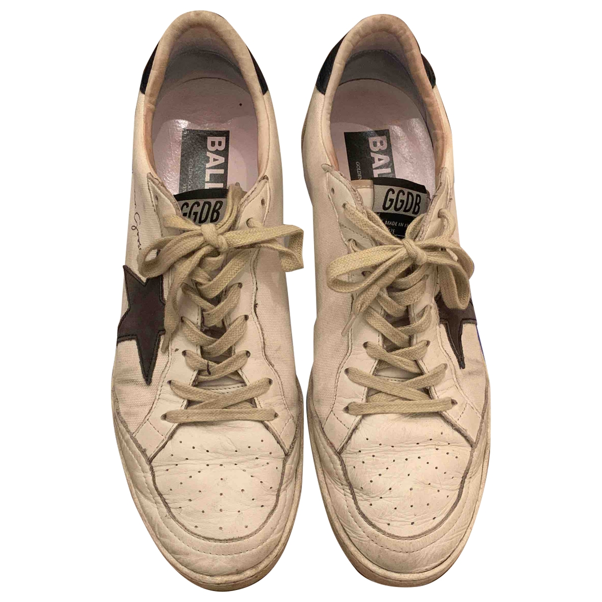 Golden Goose \N White Leather Trainers for Men 42 EU