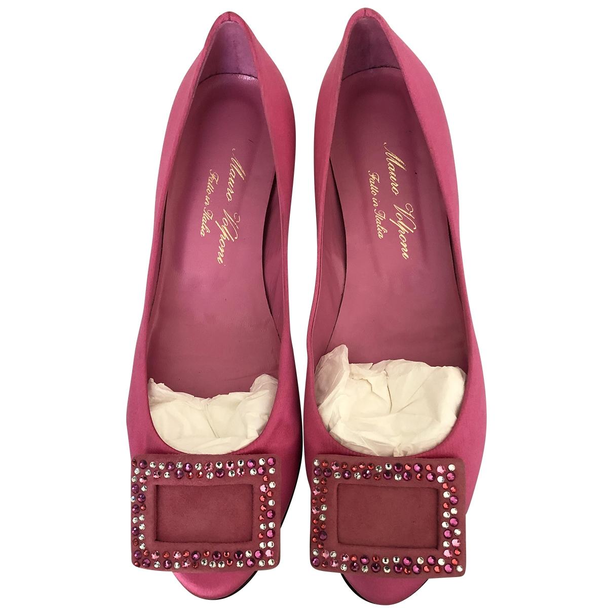 - Ballerines   pour femme en a paillettes - rose