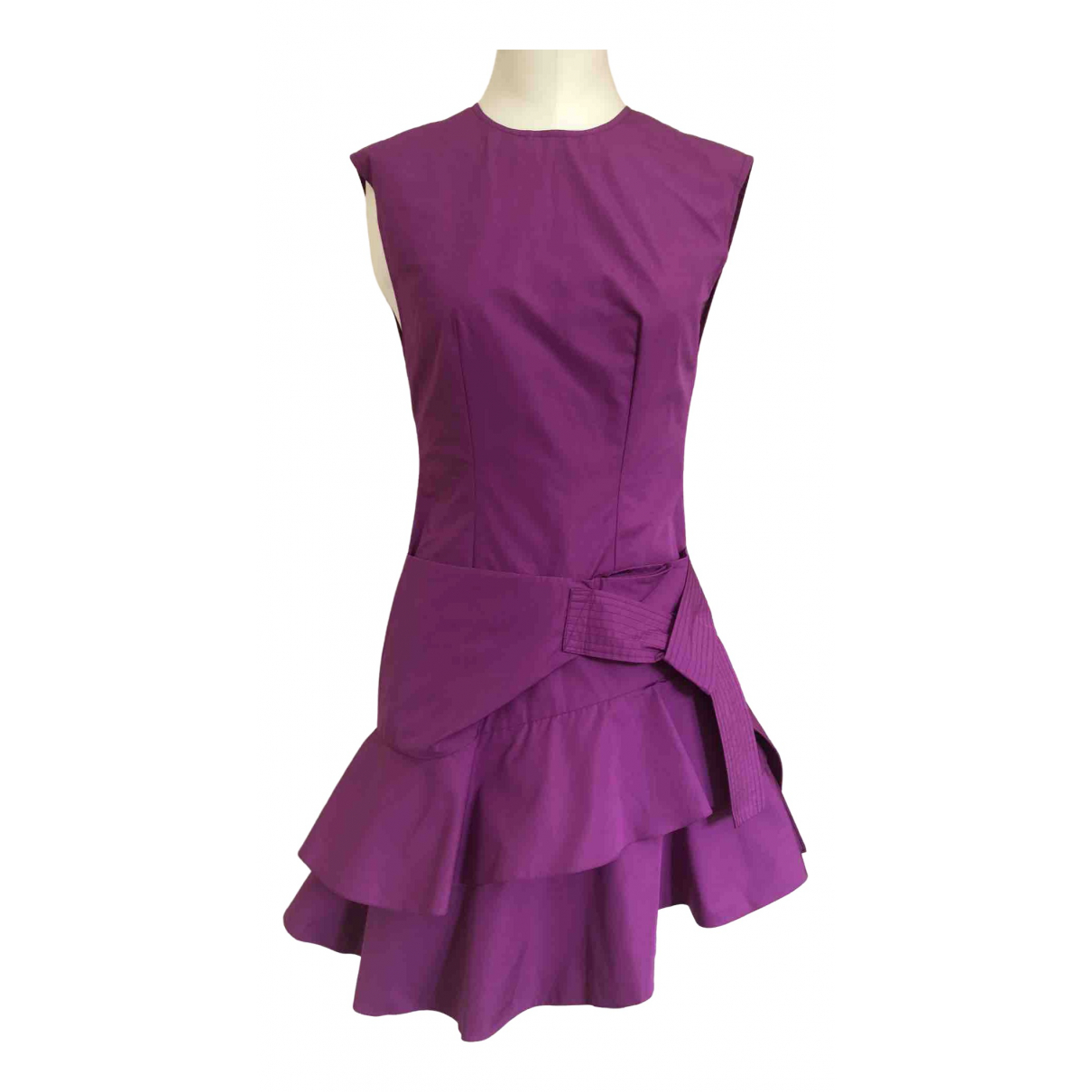 Louis Vuitton \N Kleid in  Lila Baumwolle