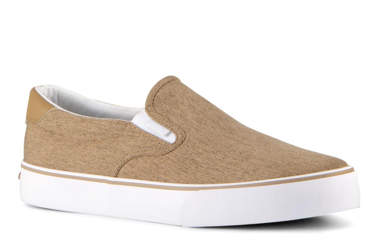 Men's Bandit Oxford Sneaker (Choose Your Color: DARK TAN/WHITE, Choose Your Size: 10.0)