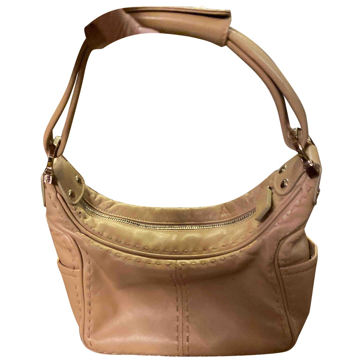Tod's N Beige Leather handbag for Women N