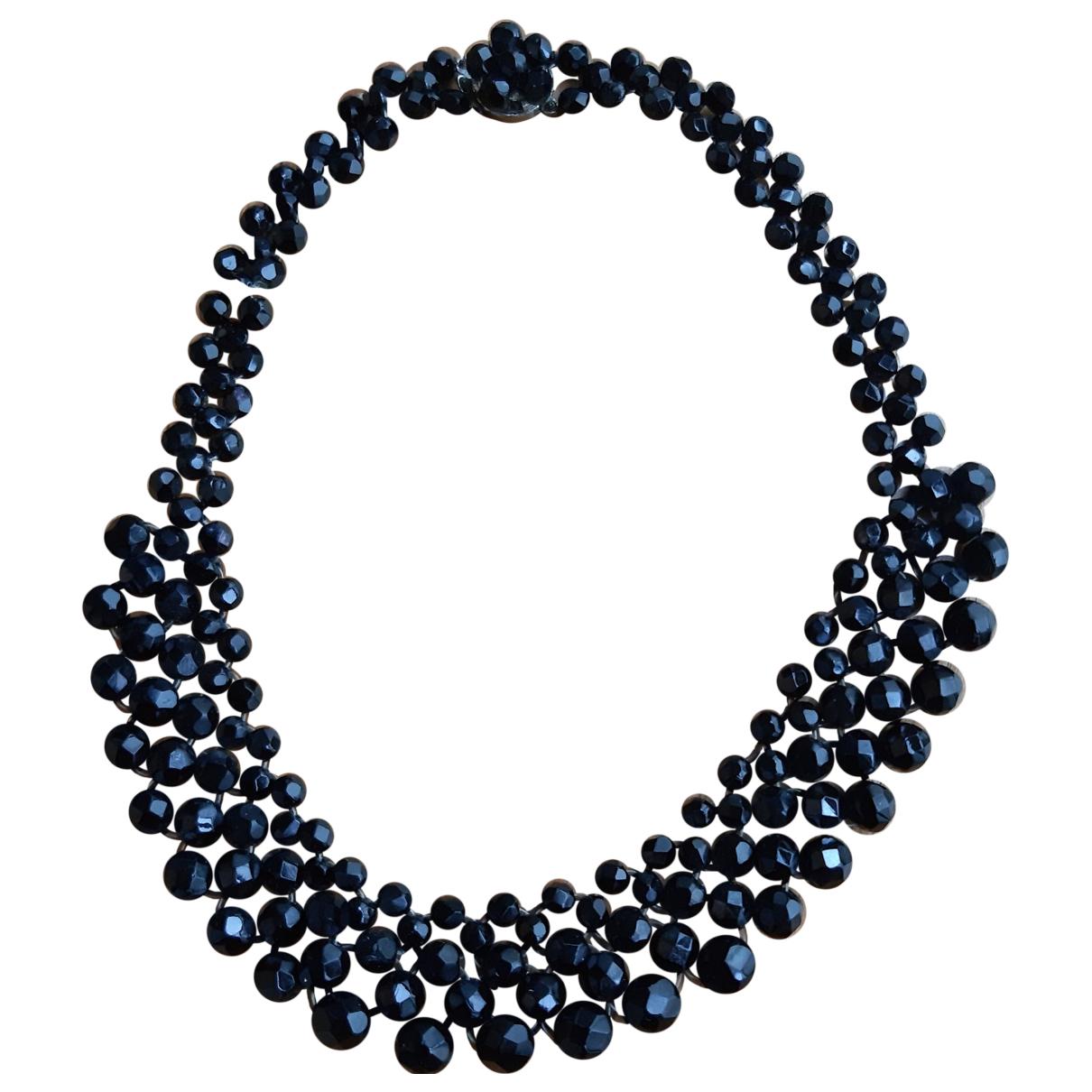 - Collier   pour femme en perles - bordeaux