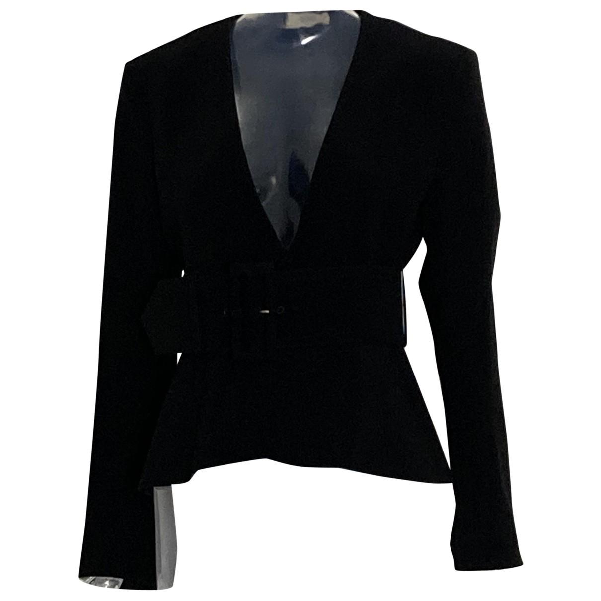 Celine N Black Silk jacket for Women 40 FR