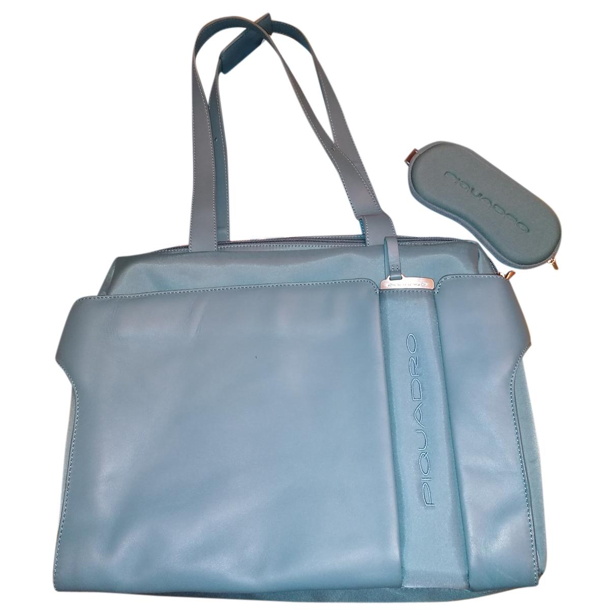 Piquadro - Sac a main   pour femme - turquoise