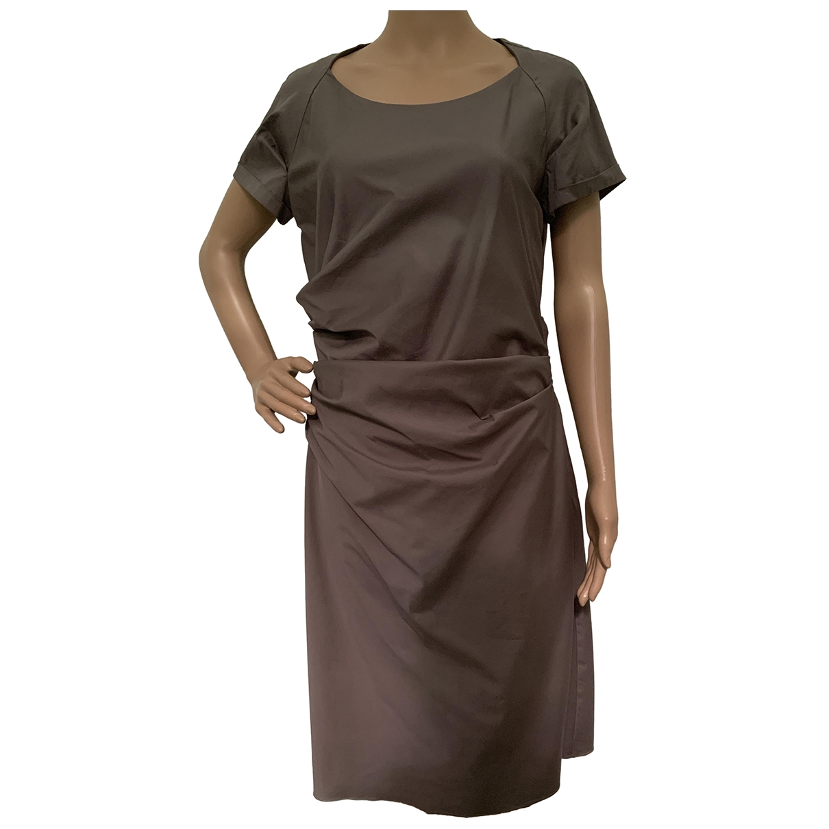 Windsor - Robe   pour femme en coton - elasthane