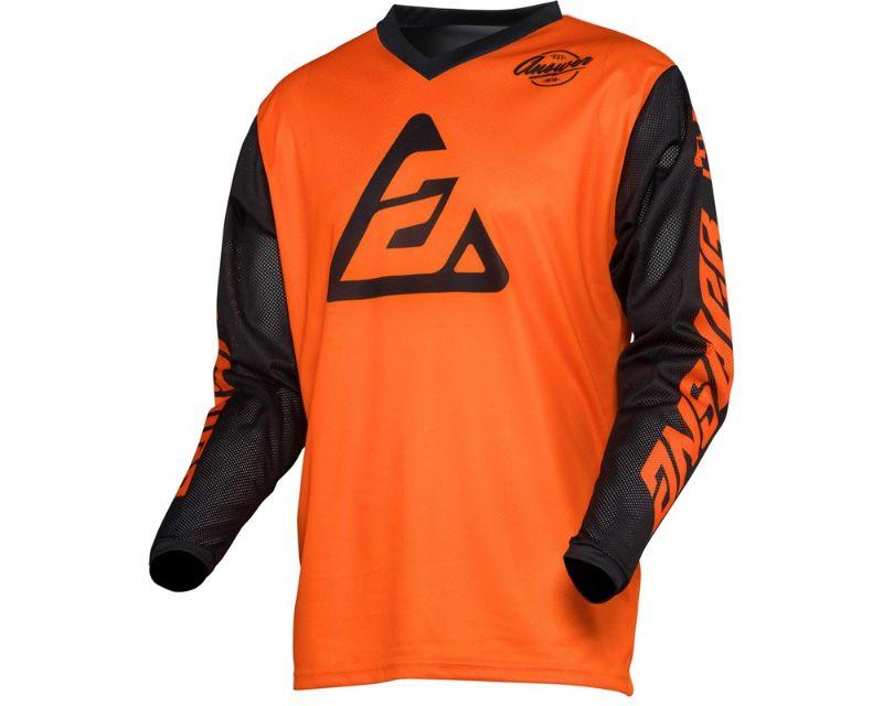 Answer 444633 Arkon Bold Jersey Orange Black LG
