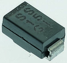 Vishay 60V 1A, Schottky Diode, 2-Pin DO-214AC SS16-E3/5AT (50)