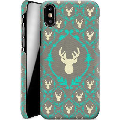 Apple iPhone X Smartphone Huelle - Oh Deer von Bianca Green