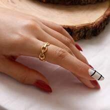 1 Stueck Kette formiger Ring