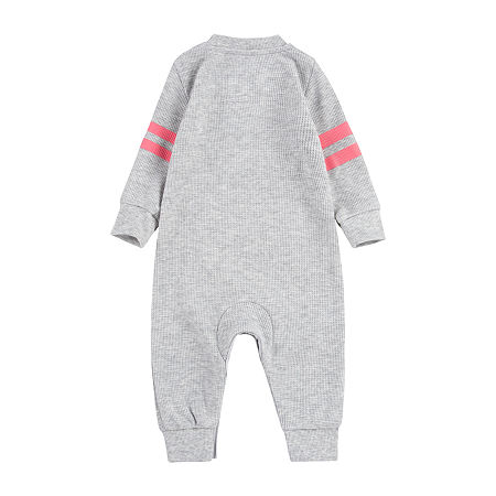 Levi's Baby Boys Long Sleeve Jumpsuit, 12 Months , Gray