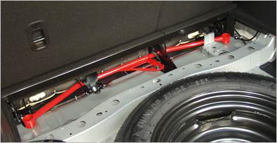 AutoExe Rear Crossbar 01 Mazda 07-12