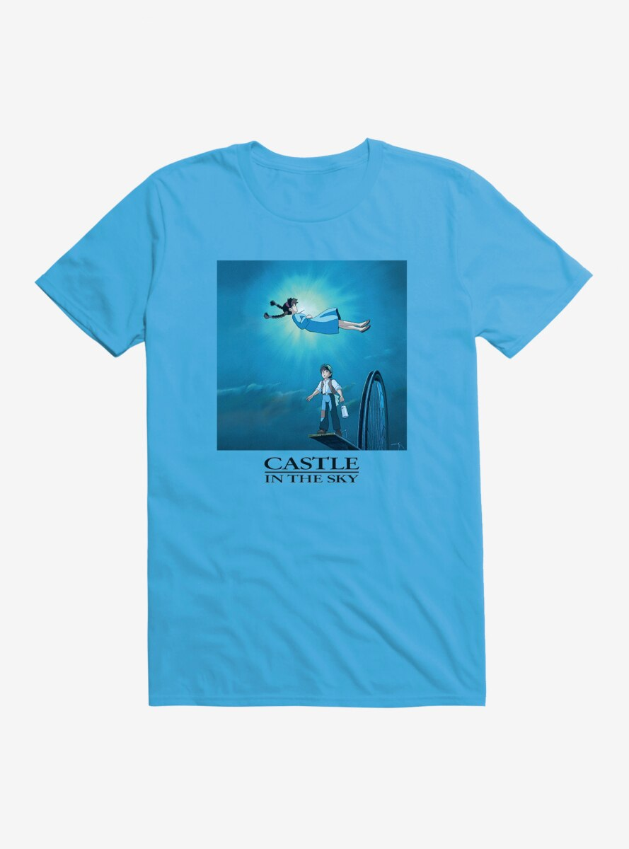 Studio Ghibli Castle In The Sky T-Shirt
