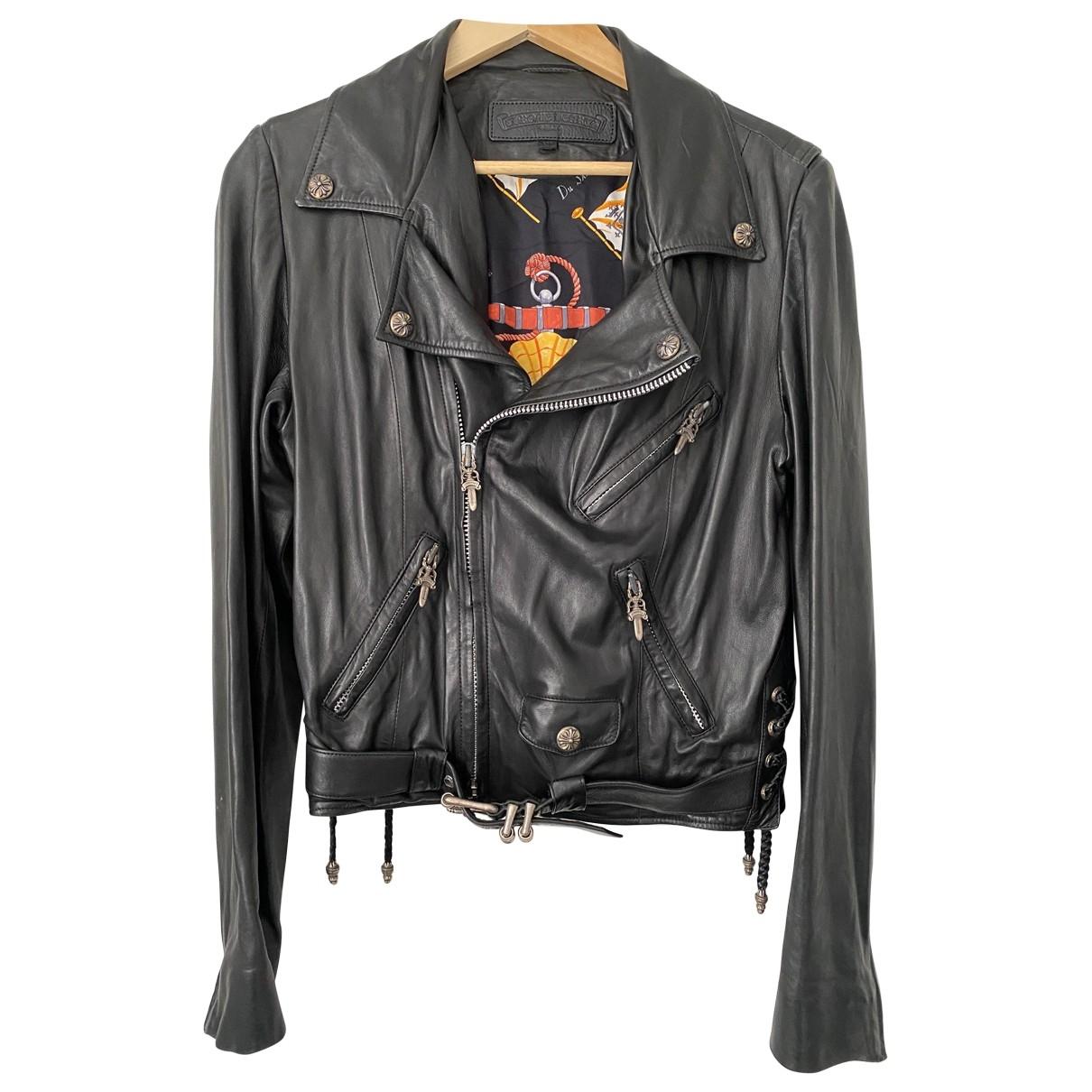 Chrome Hearts \N Black Leather jacket  for Men XL International