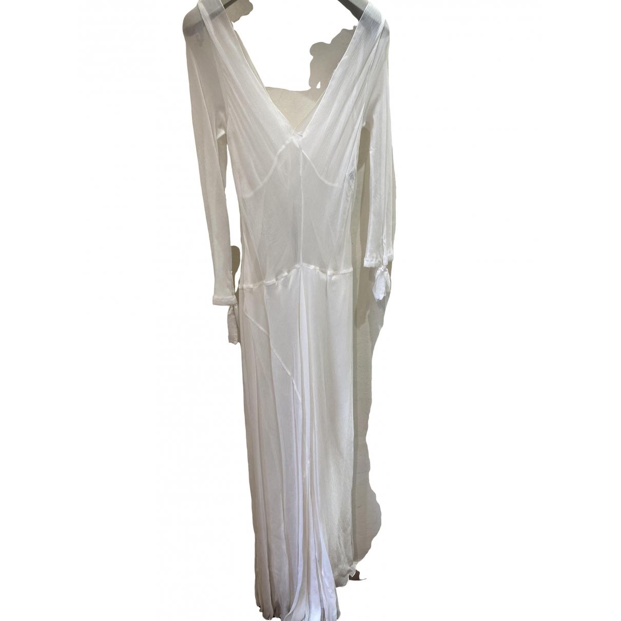 Maxi vestido de Seda Philosophy Di Alberta Ferretti