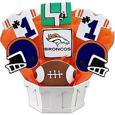 NFL Denver Broncos Cookie Bouquet