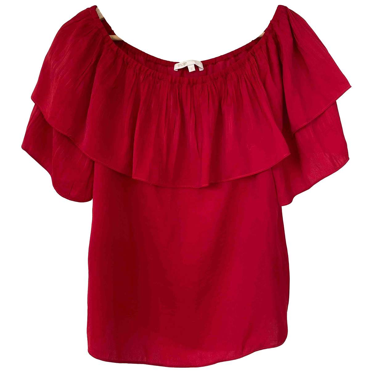 Maje \N Top in  Rot Polyester