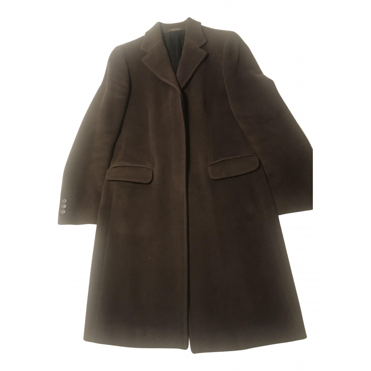 Seventy - Manteau   pour femme en laine - marron