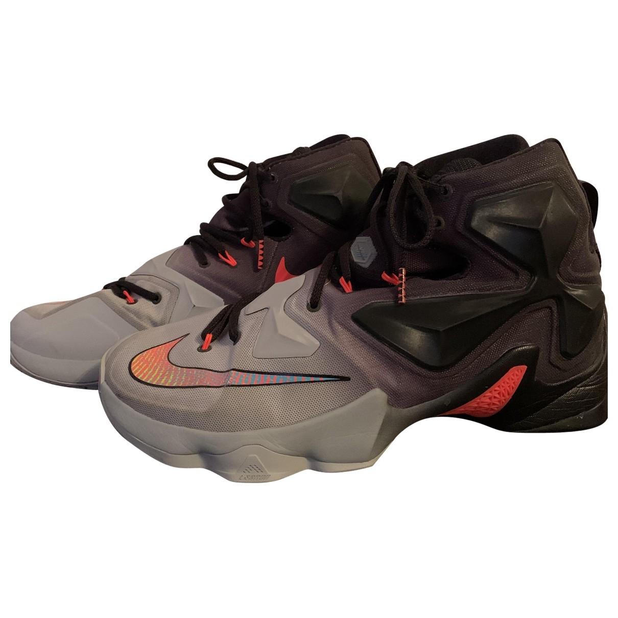 Nike Lebron X Kith - Baskets   pour homme en caoutchouc - multicolore