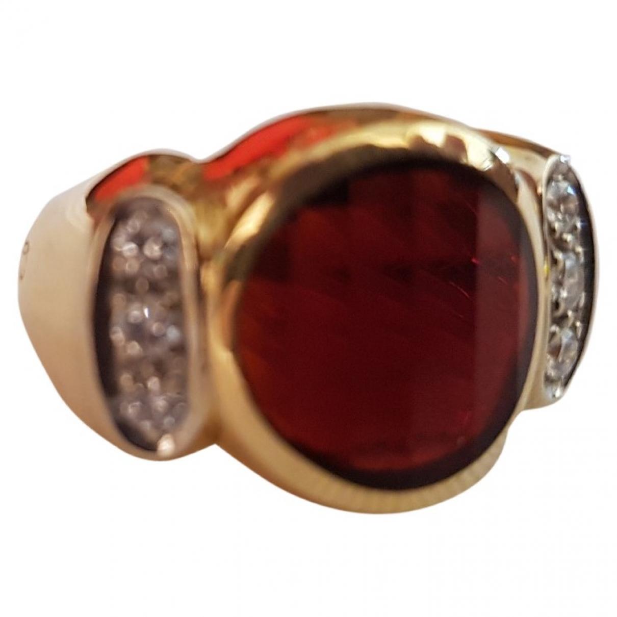 Pomellato \N Ring in  Braun Gelbgold