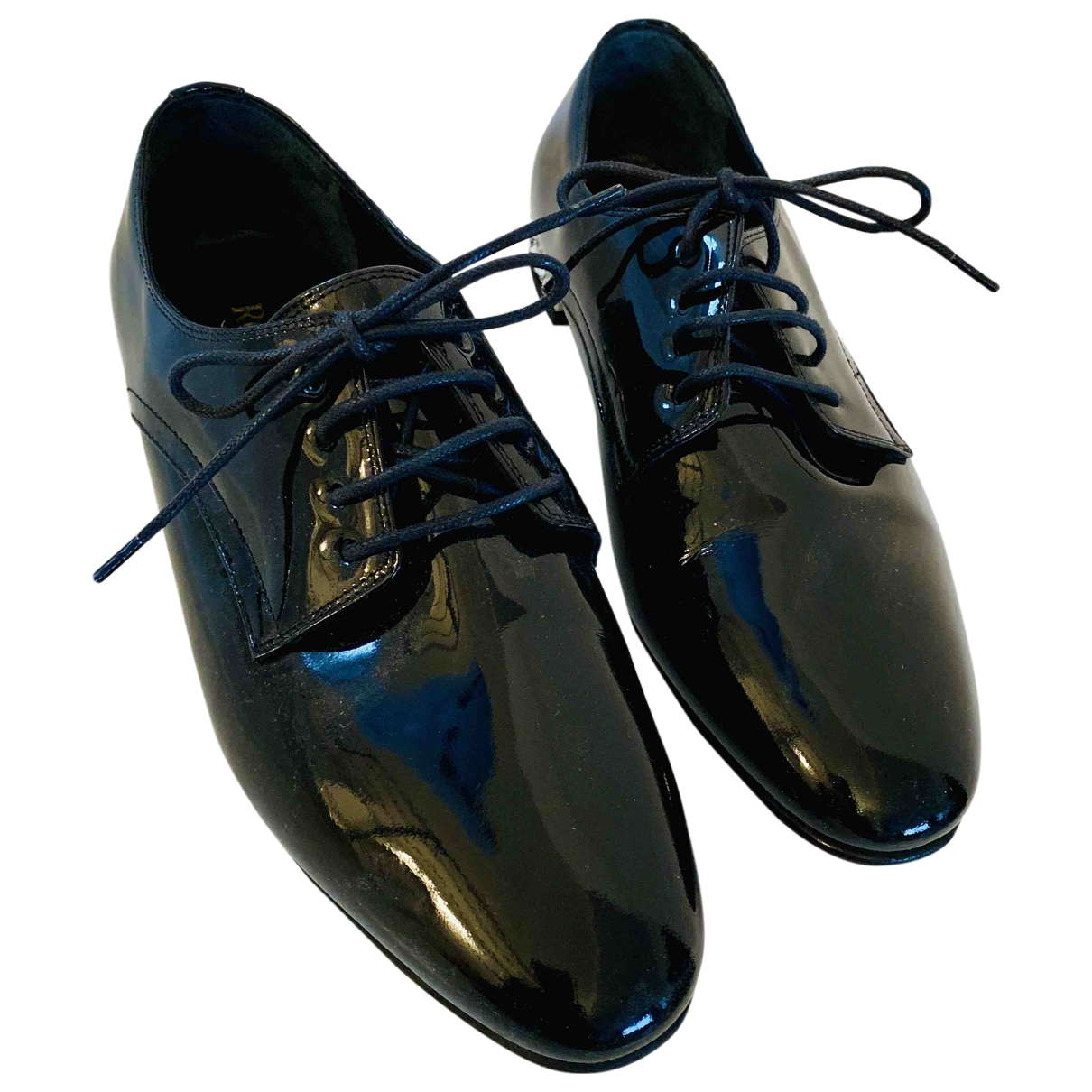 Russell & Bromley \N Black Patent leather Lace ups for Women 36 EU