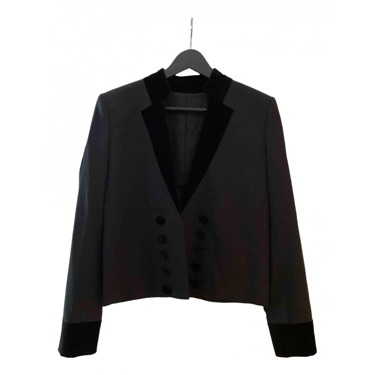 The Kooples - Veste Fall Winter 2019 pour femme en laine - noir