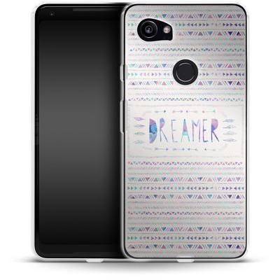 Google Pixel 2 XL Silikon Handyhuelle - Dreamer von Bianca Green