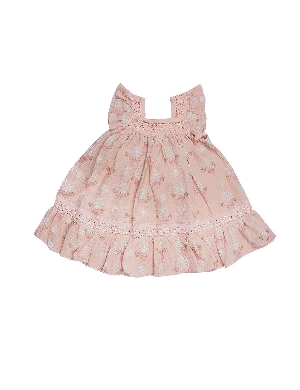 Wild Wawa Paisley Dress Pink