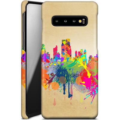 Samsung Galaxy S10 Smartphone Huelle - New York Skyline von Mark Ashkenazi