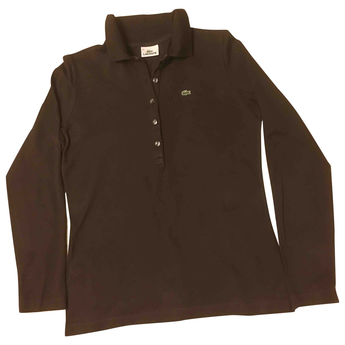 Lacoste \N Brown Cotton  top for Women 42 FR