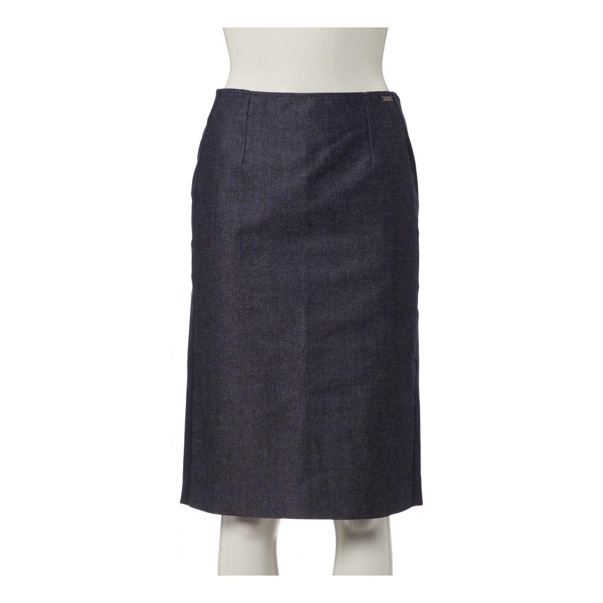 Chanel - Jupe   pour femme en denim - bleu